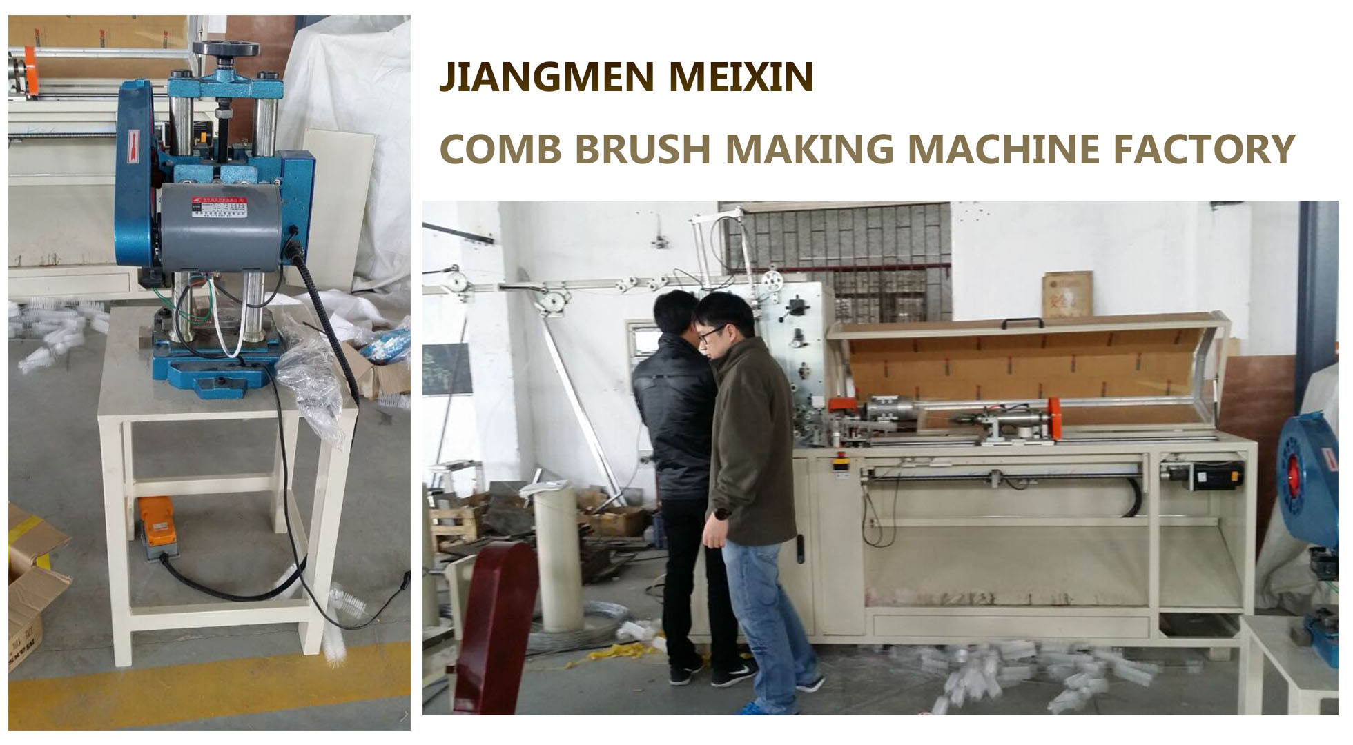 MEIXIN-5 Days' Twist Brush Machine Training for Thailand Customers