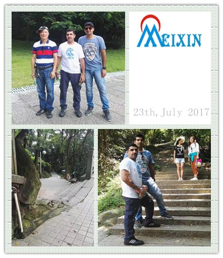 MEIXIN Go Climbing with Indian Customers