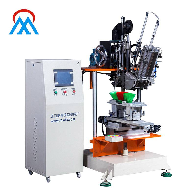 2 Axis Broom Tufting Machine Clothes Brushes
