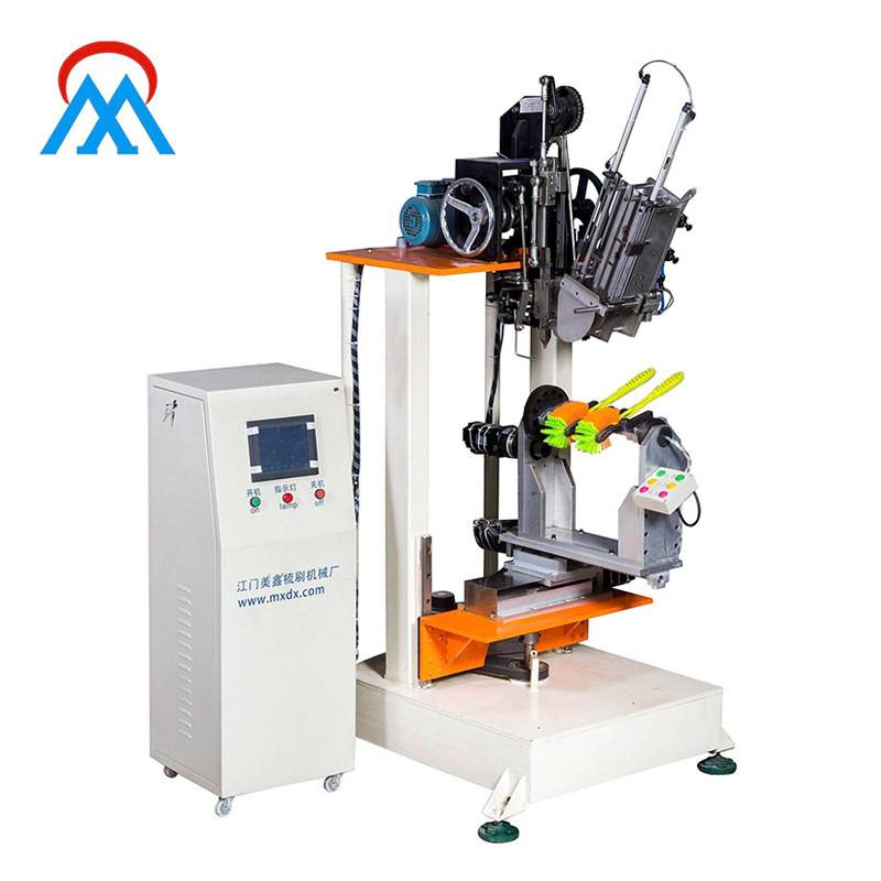 4 Axis Double Hockey Brush Tufting Machine