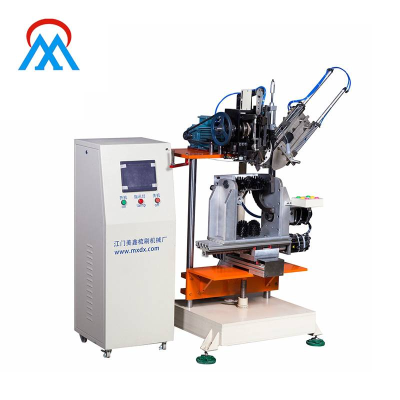 product-MEIXIN-MX184 4 Axis 1 Head Broom Brush Tufting Machine-img-1