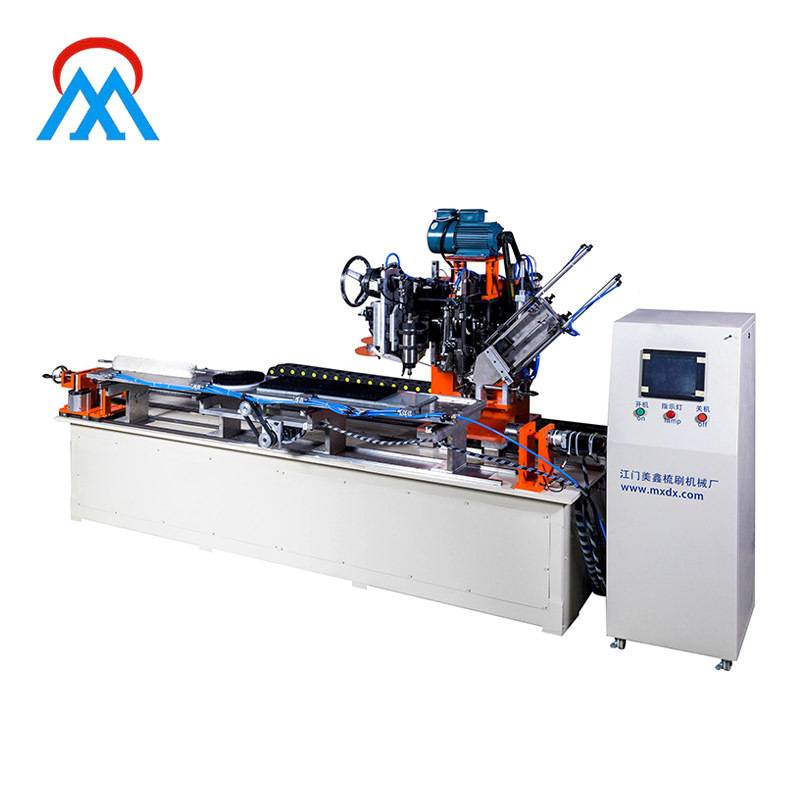 Mx201 3 Axis Brush Drilling And Tufting Machine