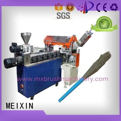 MEIXIN Brand co broom manual trimming machine toilet
