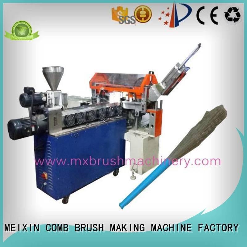 MEIXIN Brand pneunatic automatic Manual Broom Trimming Machine phool flaggable