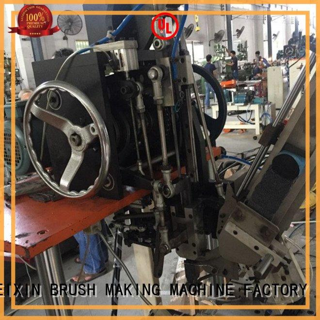 MEIXIN professional broom tufting machine customized for PP brush