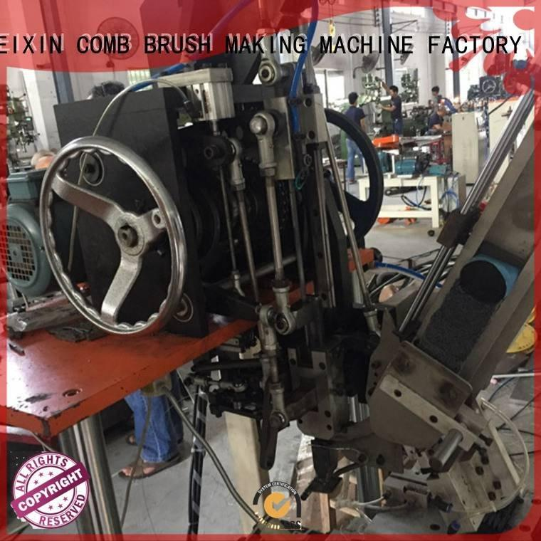 MEIXIN cnc brush tufting machine abrassive heads axis brush