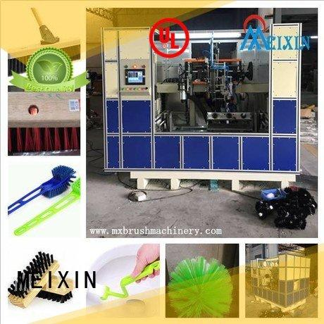 heads ttufting broom MEIXIN 5 Axis Brush Drilling And Tufting Machine