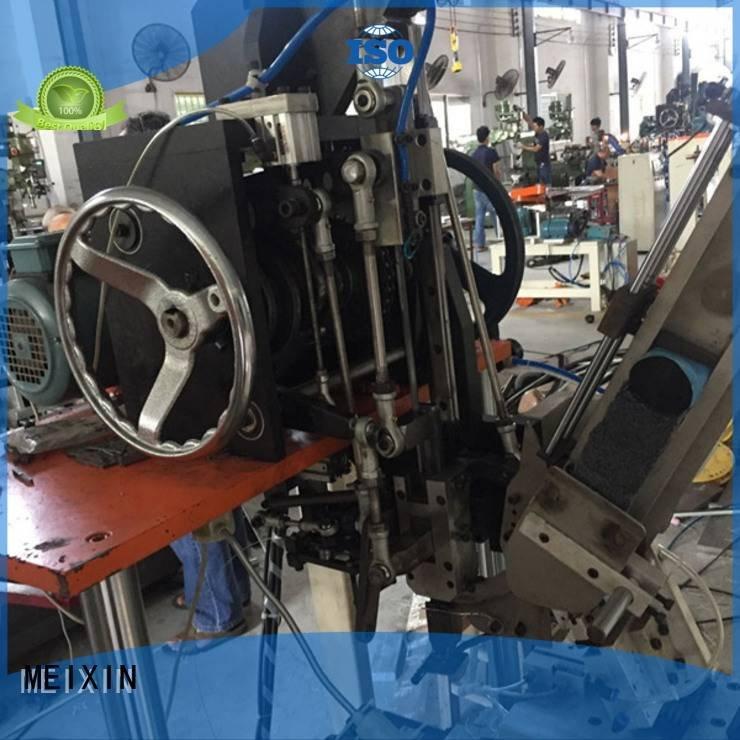 cnc brush tufting machine drilling heads and tufting