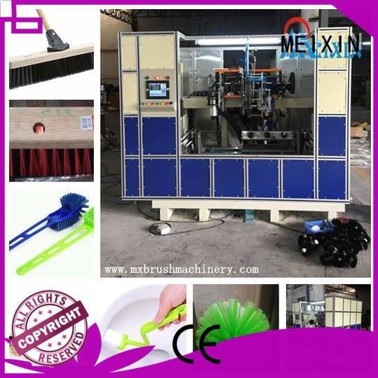 broom brush MEIXIN 5 Axis Brush Drilling And Tufting Machine