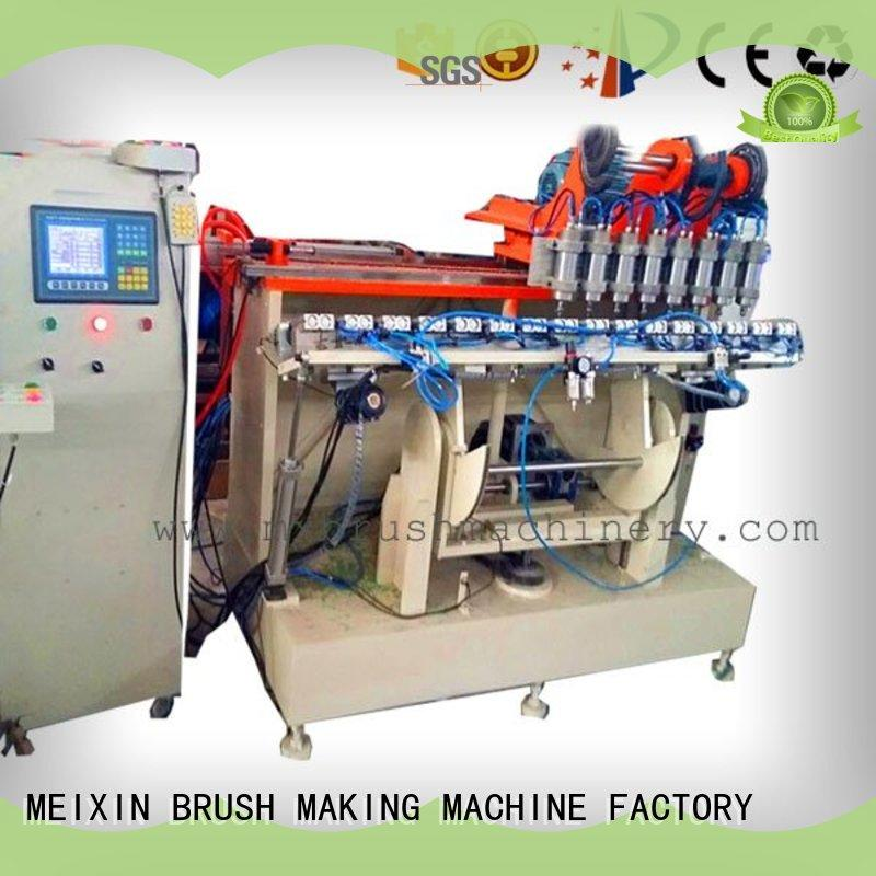 MEIXIN professional wire brush machine manufacturers brake motor for toilet brush
