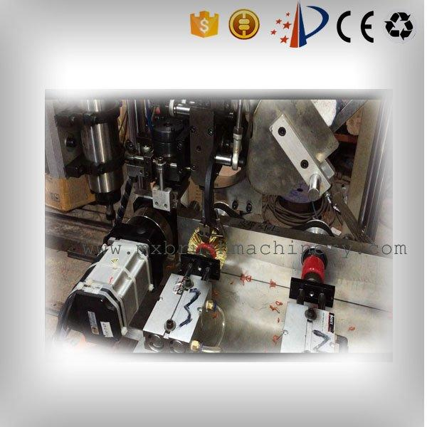 3 Axis 2 Drilling and 1 Tufting Wire Wheel Brush Making Machine