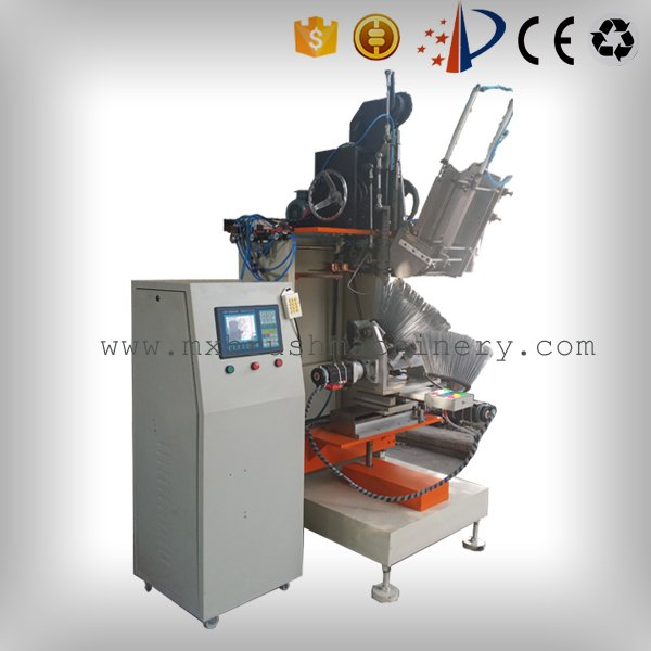 MEIXIN-Brush Making Machine Manufacture | 4 Axis 1 Head Broom Tufting Machine-1