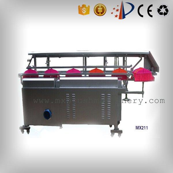 Aparamento automático da vassoura MX212 e máquina de Flaggable