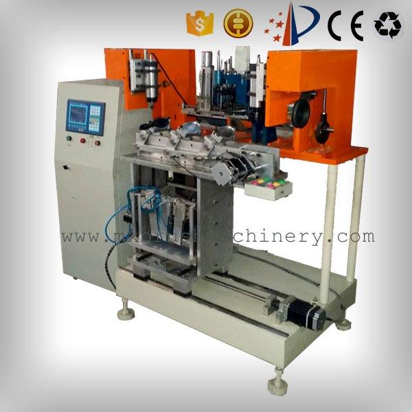 4 Axis 3 Heads Brush Drilling And Tufting Machine