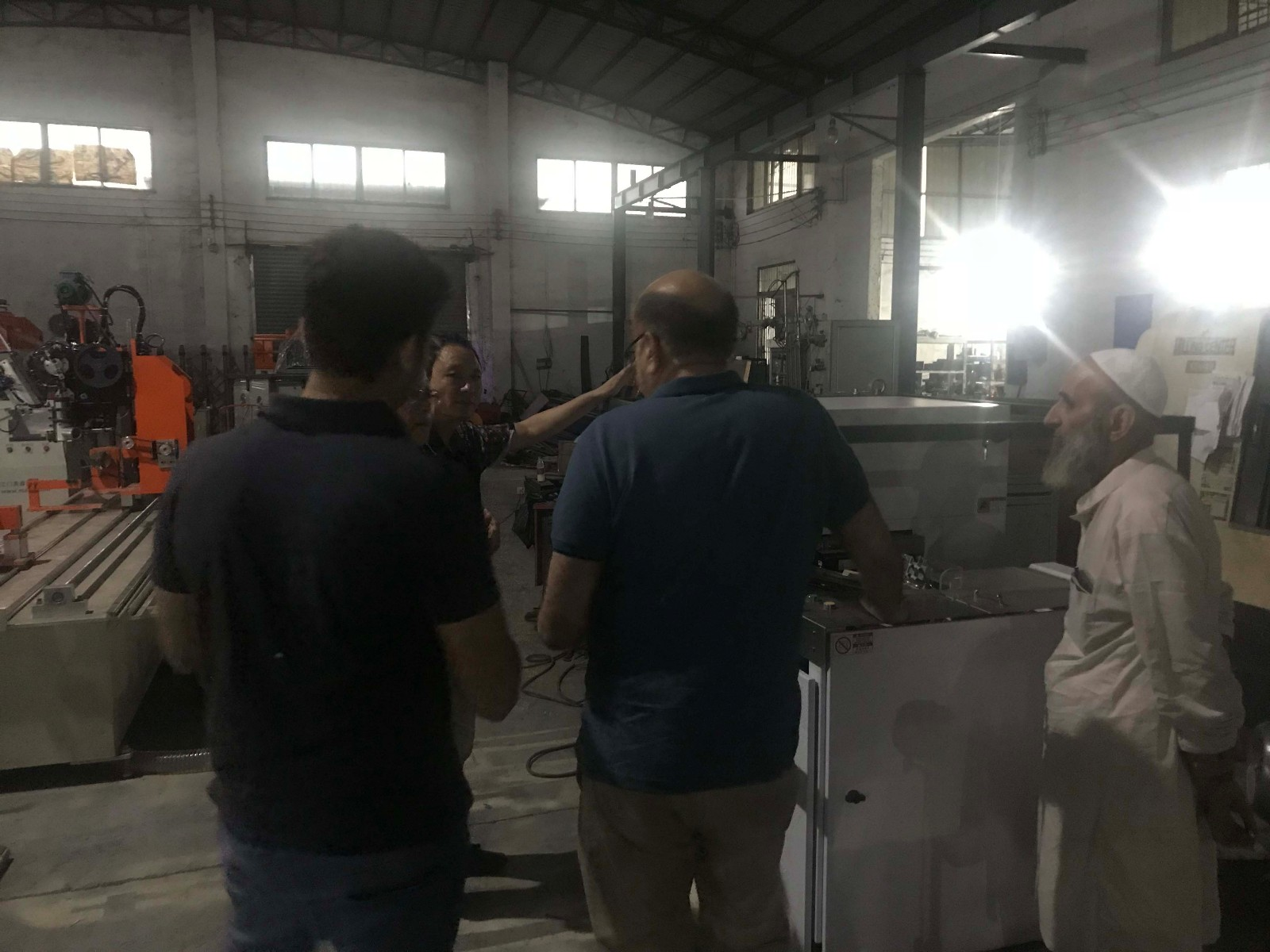 MEIXIN-Pakistan Clients Came To Meixin | Meixin Brush Machinery Company News-1