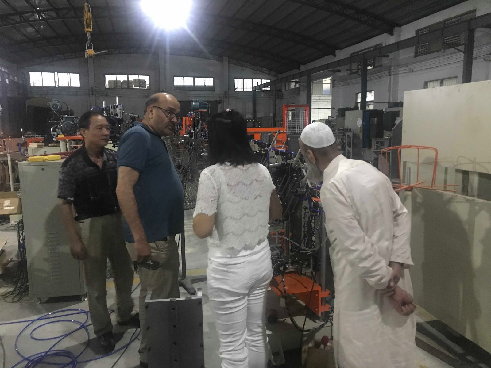 MEIXIN-Pakistan Clients Came To Meixin | Meixin Brush Machinery Company News