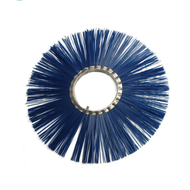 Industrial Ring PP Bristle Scrubber Road Sweeper Wafer Brush