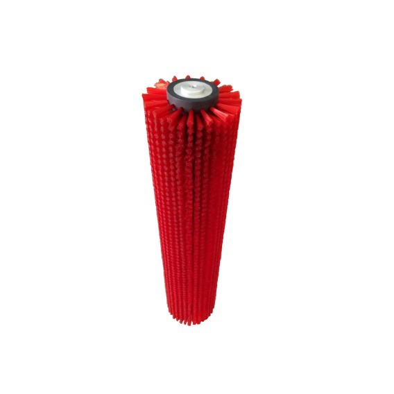 Professional Industry Washing Machine Rotary Cleaning Soft Nylon Brush Roller