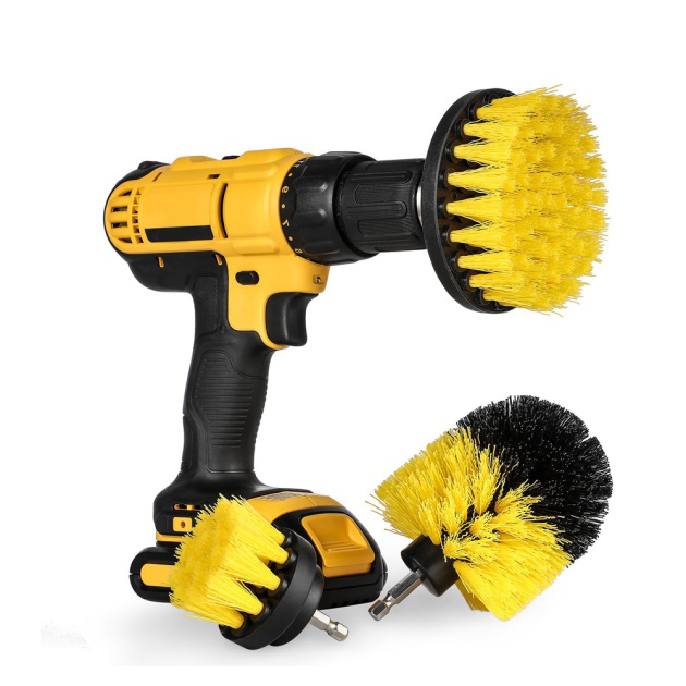 Drill Power Drill Rotary Brush for Carpet and Tile