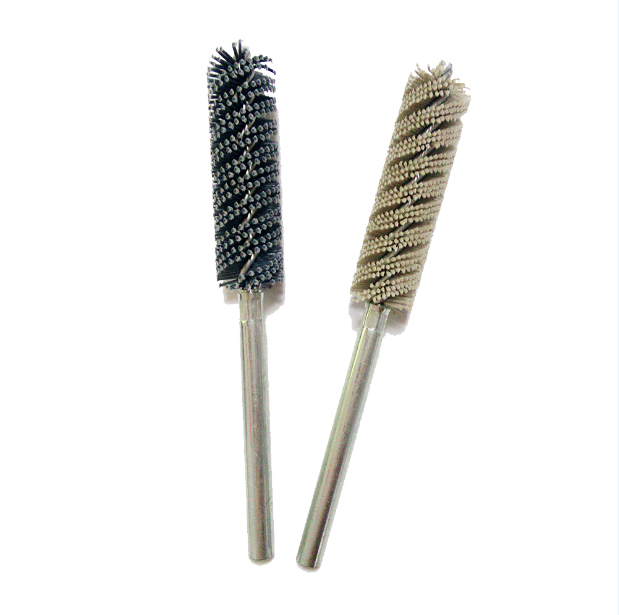 Deburring Polishing Cleaning Industrial Abrasive Tube Brush