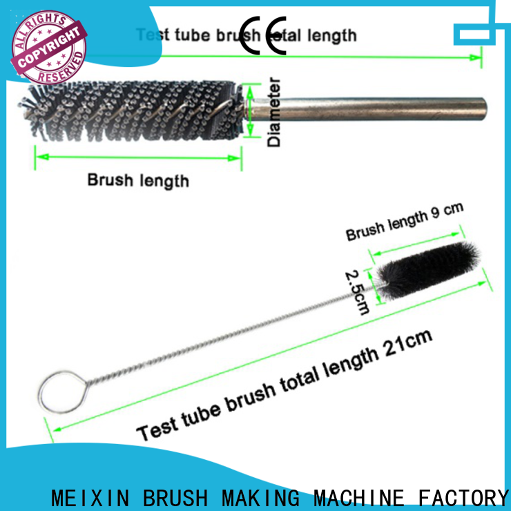 MEIXIN top quality nylon tube brushes personalized for washing