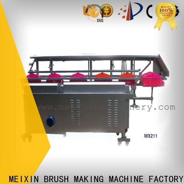 MEIXIN trimming machine directly sale for bristle brush