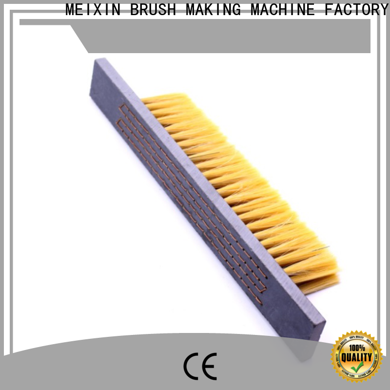 stapled nylon bristle brush wholesale for industrial
