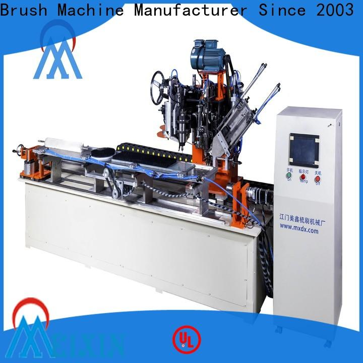 MEIXIN high productivity brush making machine with good price for PP brush