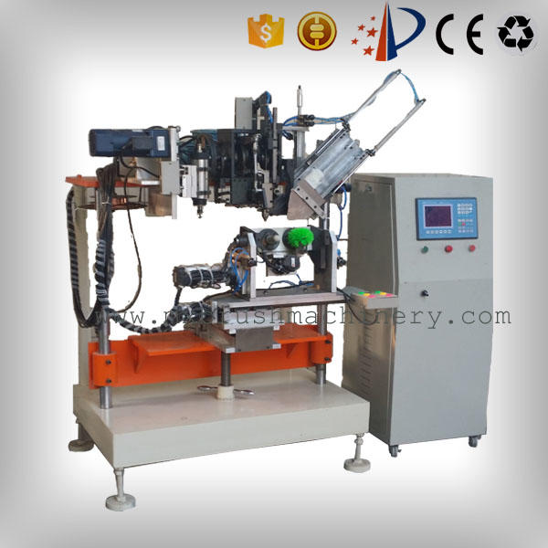 adjustable speed broom manufacturing machine supplier for industrial brush