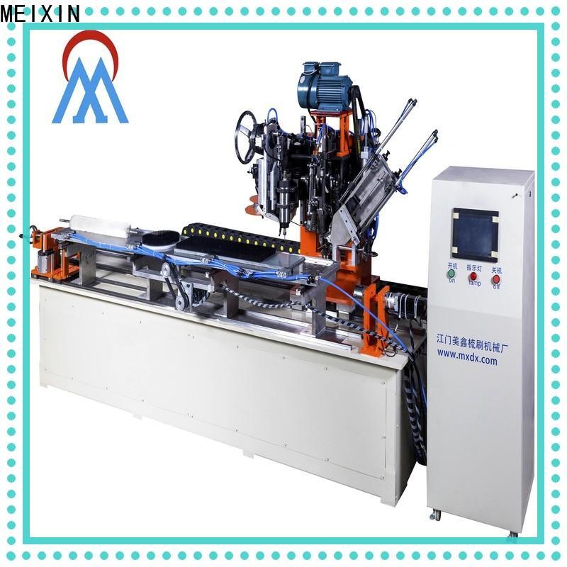 MEIXIN high productivity brush making machine factory for PET brush