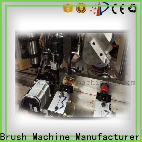 MEIXIN 3 grippers broom making machine for sale factory for bristle brush