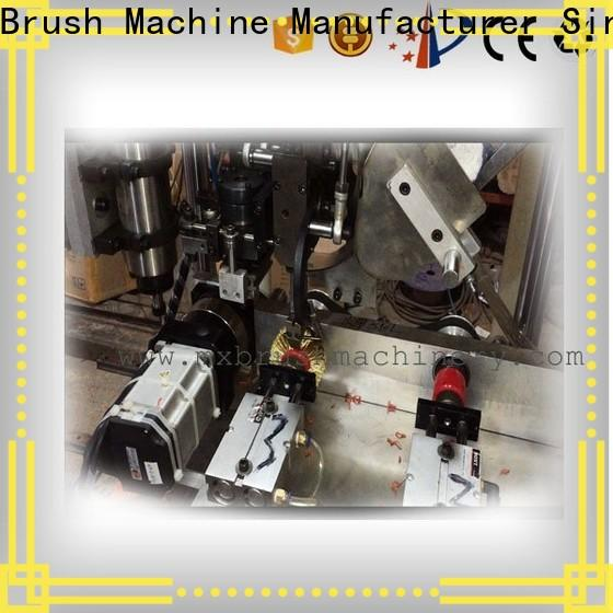 MEIXIN 3 grippers Brush Drilling And Tufting Machine inquire now for bristle brush