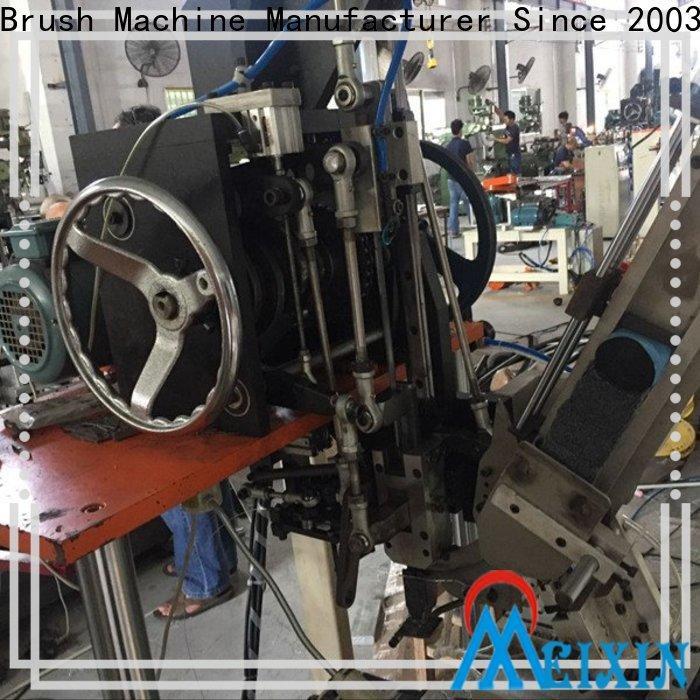 durable broom tufting machine customized for hair brush