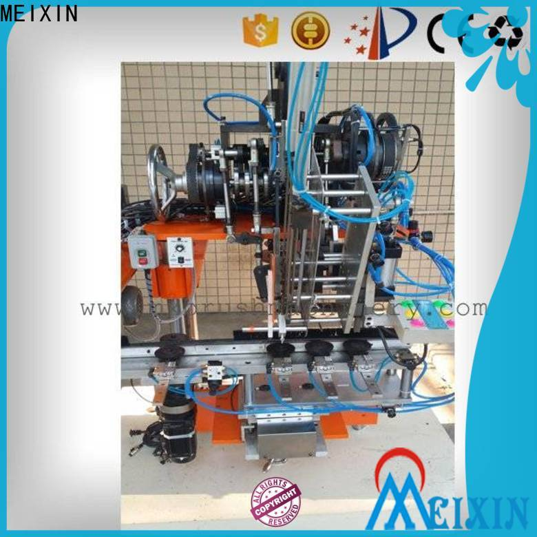 MEIXIN independent motion broom tufting machine manufacturer for industry