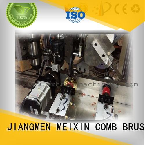 broom making machine for sale 3 grippers for bristle brush MEIXIN