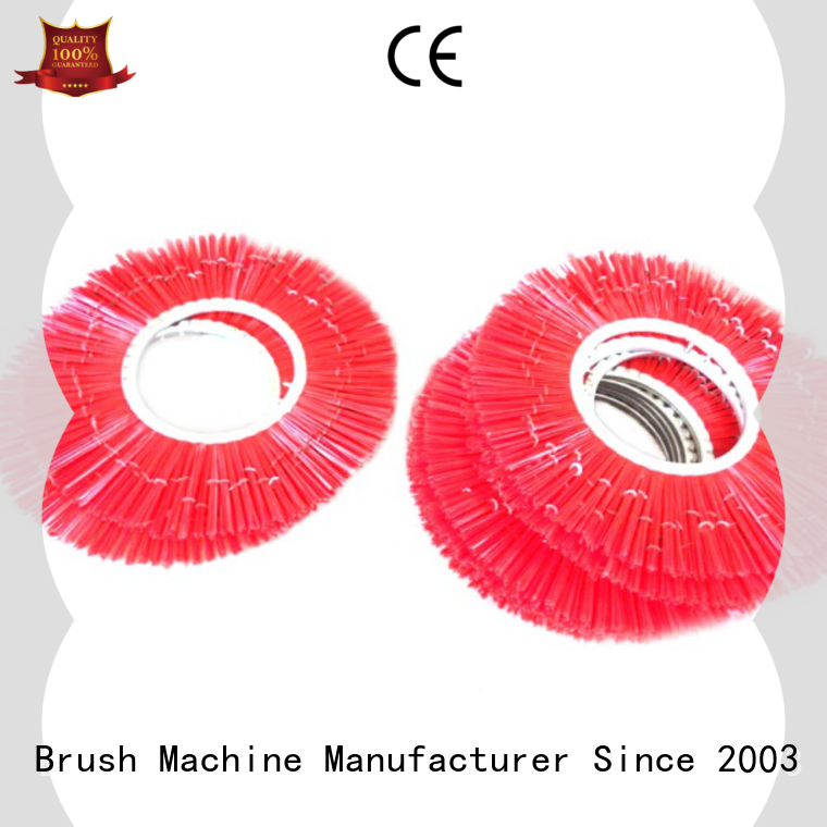 MEIXIN stapled nylon wire brush wholesale for industrial