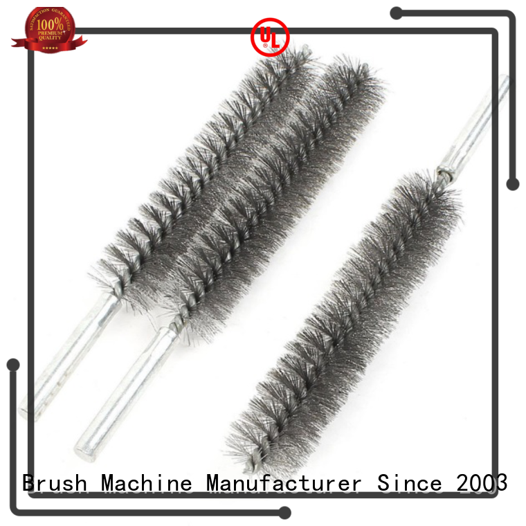 quality deburring brush factory for steel