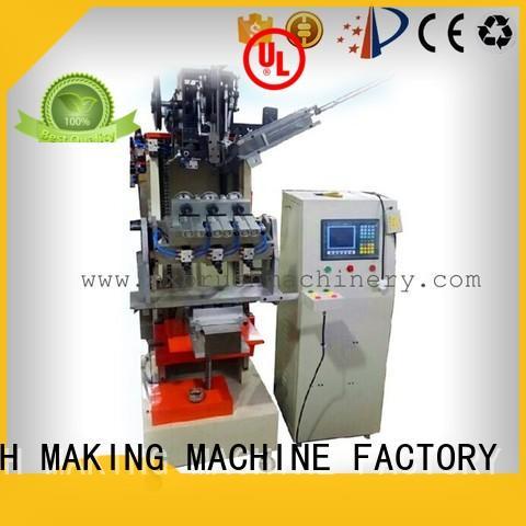 MXJ184 4 Axis 1 Head Jade Brush Tufting Machine