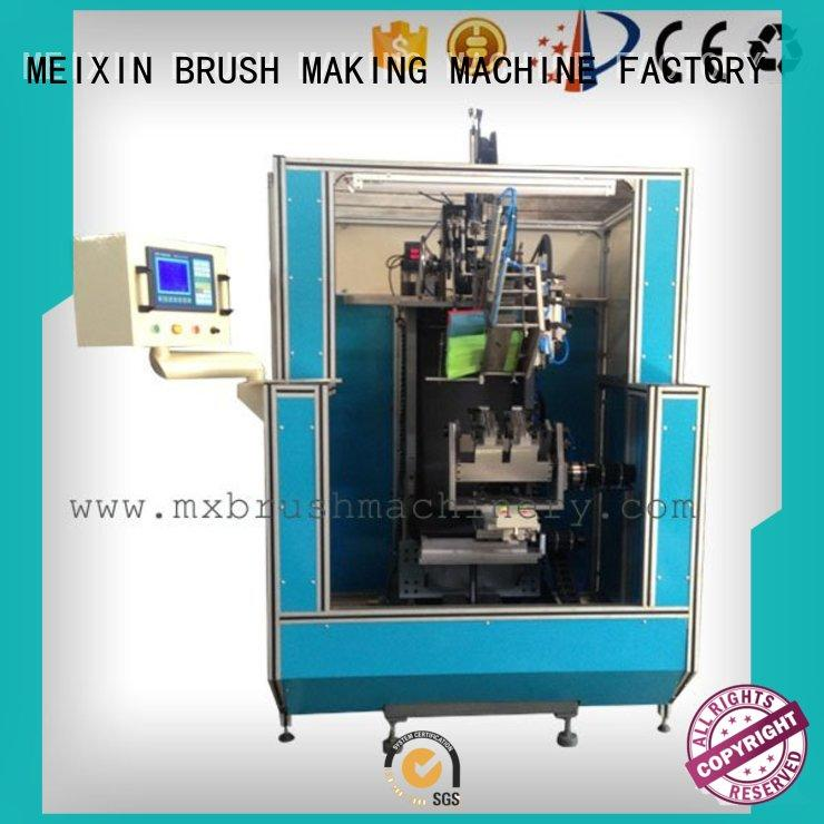 MEIXIN high productivity Brush Making Machine factory for clothes brushes