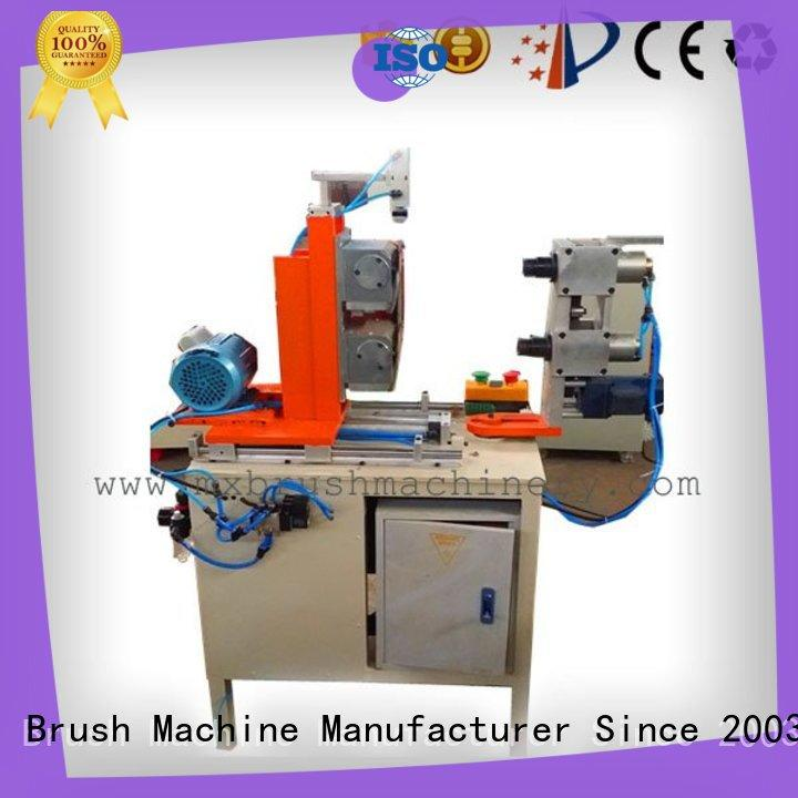 MEIXIN trimming Manual Broom Trimming Machine factory for bristle brush