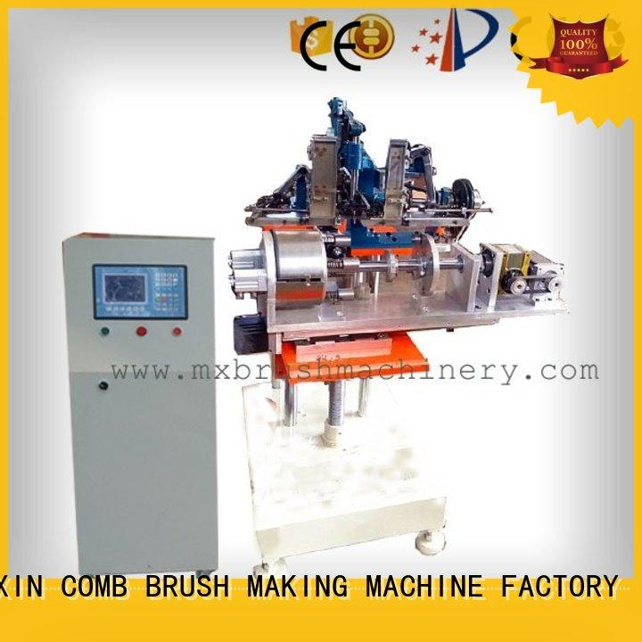 MEIXIN pressure alarm Brush Making Machine manufacturer for hockey brush