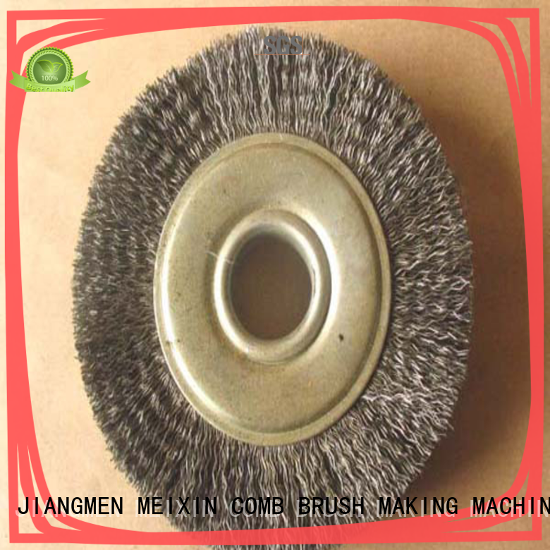 MEIXIN stapled plastic brush for drill for industrial