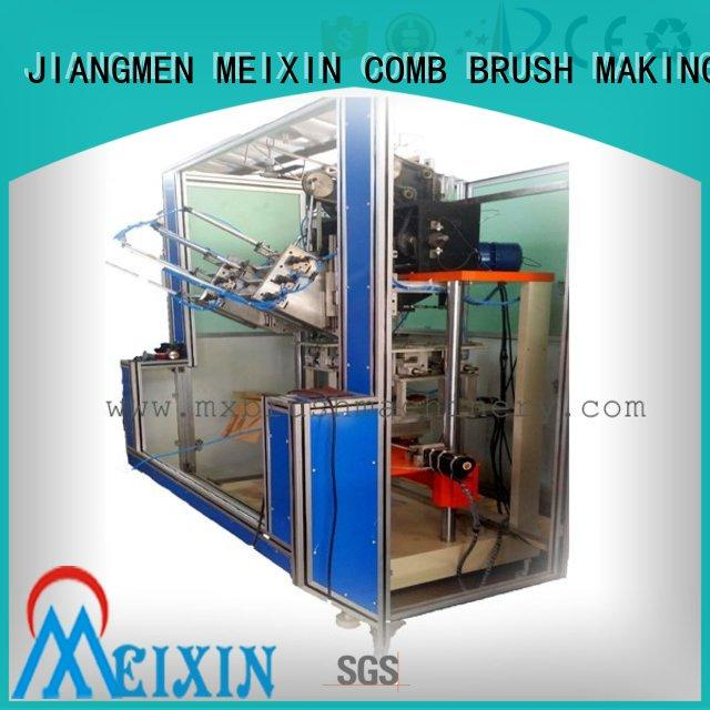 double head plastic broom making machine wholesale for industrial brush