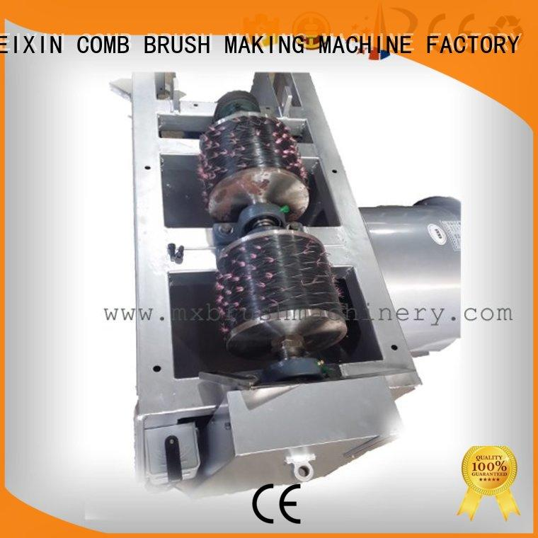 durable trimming machine customized for bristle brush
