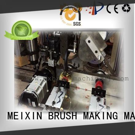 MEIXIN 3 grippers Brush Drilling And Tufting Machine factory for PP brush