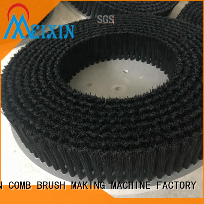 MEIXIN stapled nylon bristle brush factory price for car