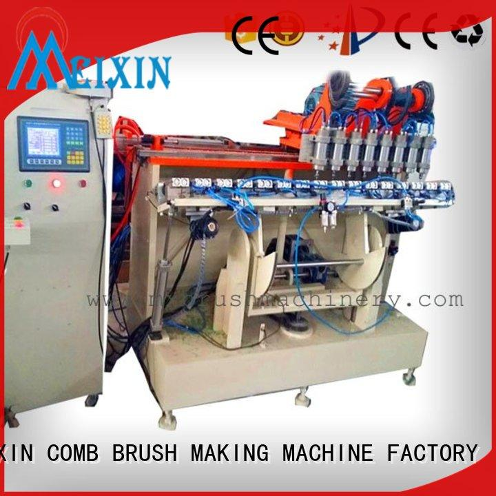 MEIXIN approved broom making equipment manufacturer for household brush
