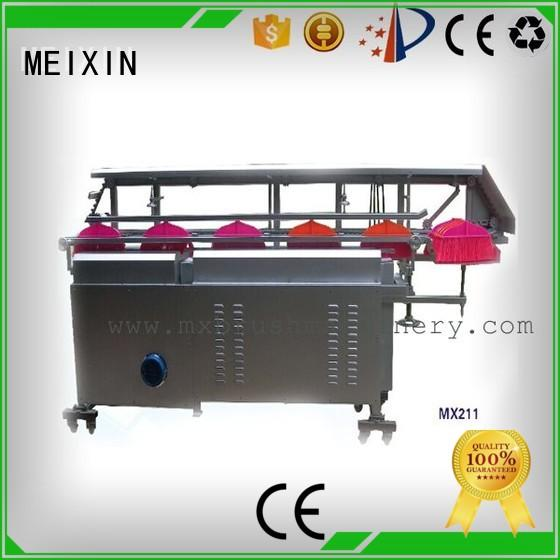 manual trimming machine broom for bristle brush MEIXIN