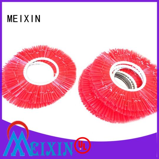 MEIXIN stapled nylon cleaning brush supplier for commercial