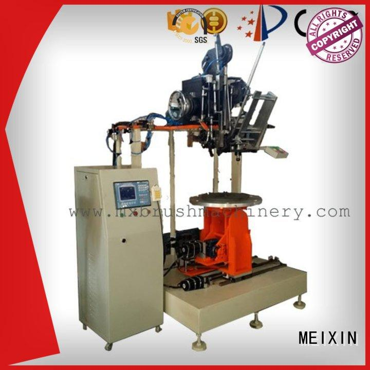 high productivity Industrial Roller Brush And Disc Brush Machines design for PP brush MEIXIN